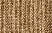 stock photo of sackcloth  - fabric texture background of seamless linen sacking cloth hessian sackcloth - JPG