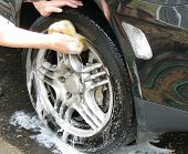 picture of car wash  - car wash - JPG