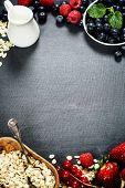 pic of oats  - Healthy Breakfast - JPG