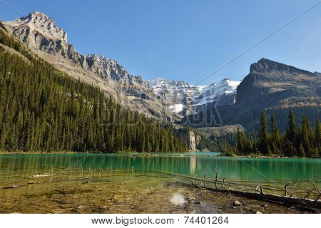 Lake O'hara And Mt. Huber, Yoho National Park