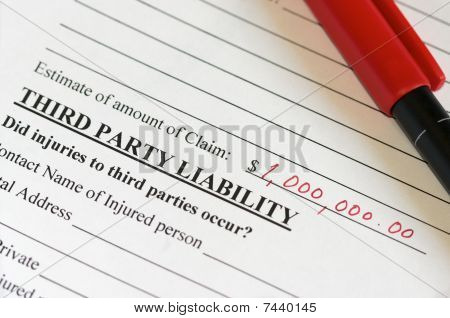 Liability Claim Form