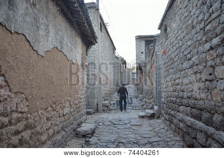 The stone village,