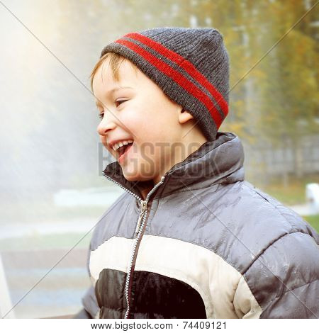 Happy Kid Outdoor