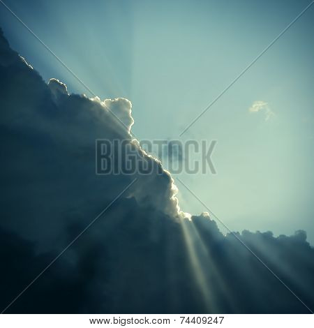 Cloud And Sunlight