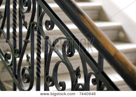 Forged Handrail