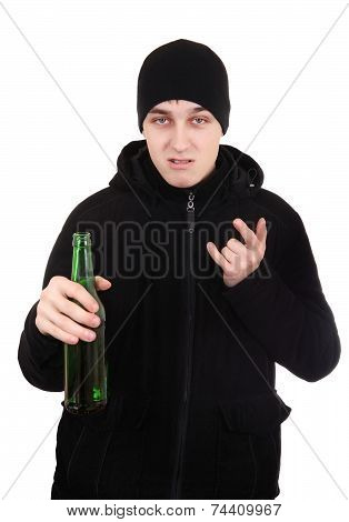 Hooligan With A Beer