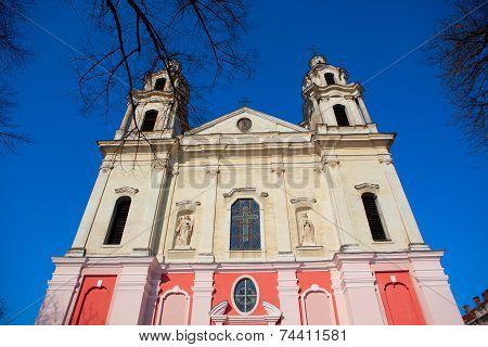 Church Of St. Raphael In Vilnius
