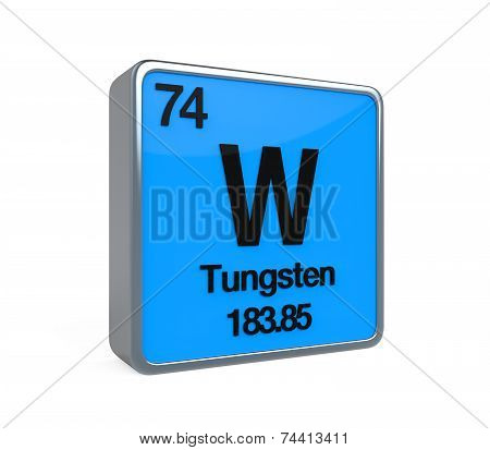 Tungsten Element Periodic Table