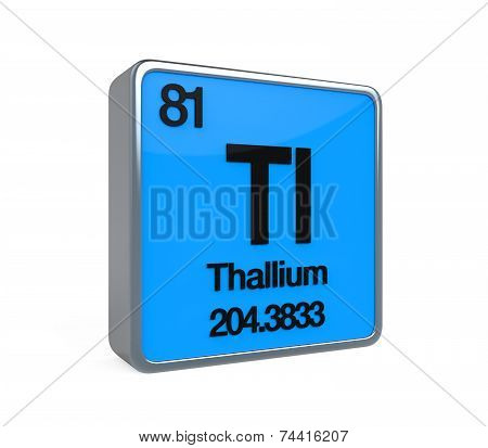 Thallium Element Periodic Table