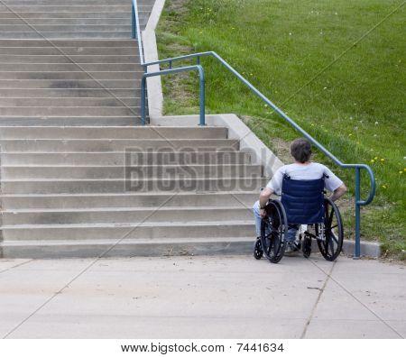 No Handicap Entrance