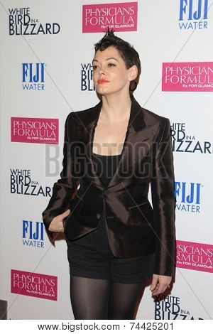 LOS ANGELES - OCT 21:  Rose McGowan at the