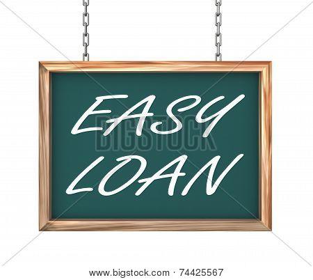 3D Hanging Banner - Easy Loan