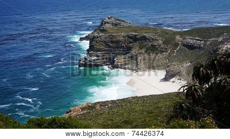 Cape Point Landscape, Located Near The City Of Cape Town, South Africa.