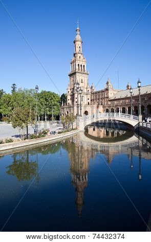 Spain Square (Plaza de España). Sevilla. Spain.