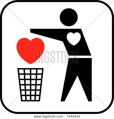 Heart To Trash.