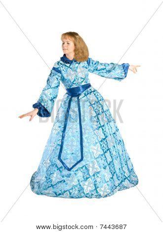 Woman In A Fancydress