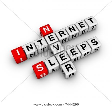Internet sleeps never