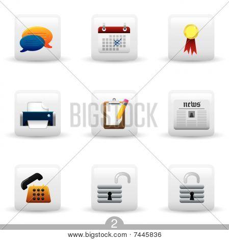 Icon series 2 - web universal