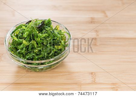 Portion Of Kelp Salad