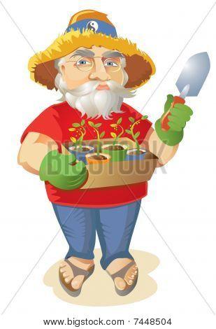 Old Hippie Organic Gardener