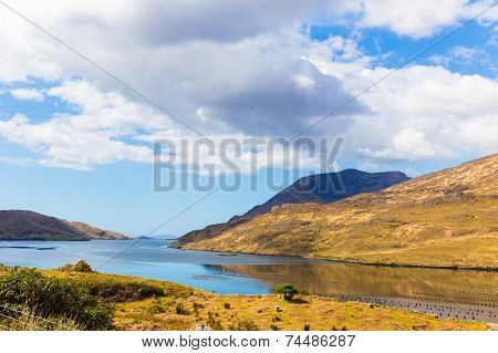 Killary Harbour And Mweelrea In Connacht