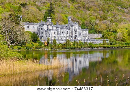 Kylemore Abbey In Connacht
