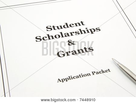 Scholarship And Grants Application Packet