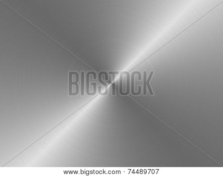 Abstract plain metallic texture