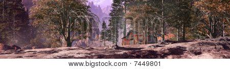 Miner's Mountain Shack