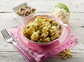 pic of pine nut  - pasta with cauliflower ancovy and pine nuts - JPG