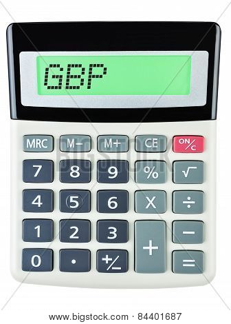 Calculator With Gbp