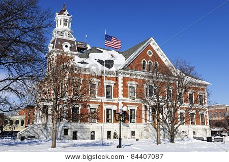 Old Courthouse In Macomb