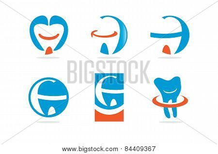 Vector Icon Teeth & Dental Series
