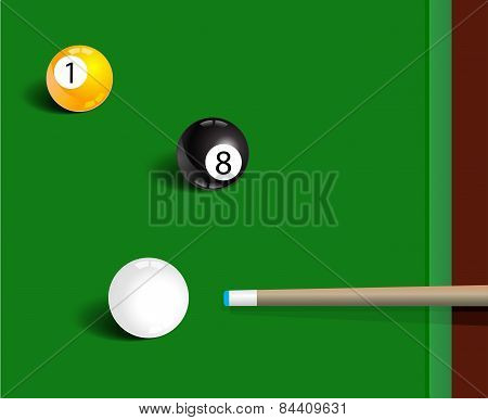 Billiards Sport Game Background