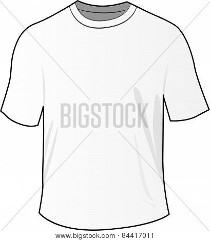 White Front Tee Shirt