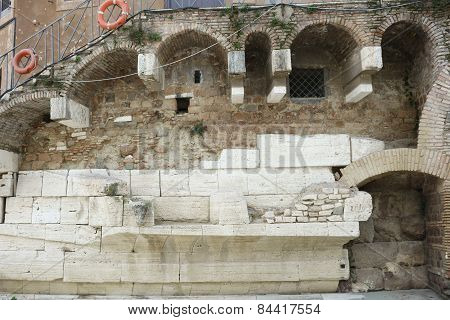 Tiber Island Roman Architectural Detail
