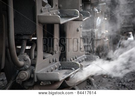 Steam Tran Footplate