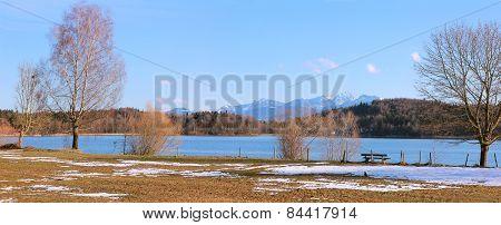Natural Landscape Seehamer See, Bavaria