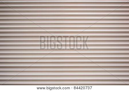 Rolled Plastic Shutter Door