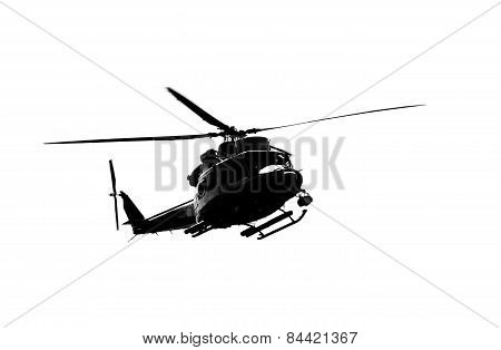 Uh-1 Helicopter.