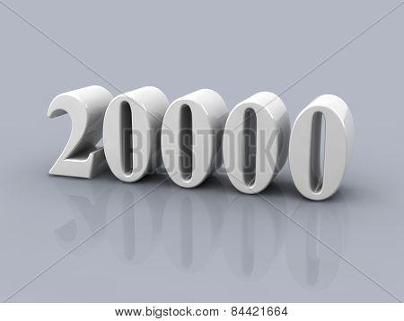 Number 20000