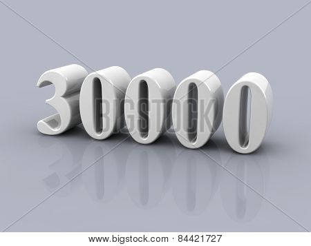 Number 30000