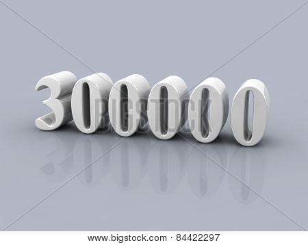 Number 300000