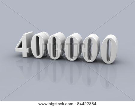 Number 400000
