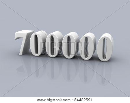 Number 700000