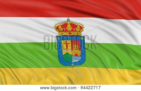 3D La Rioja flag