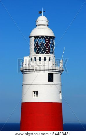 Europa Point Lighthouse, Gibraltar.