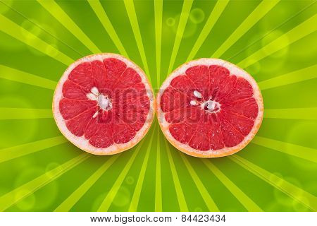 Two Half A Grapefruit