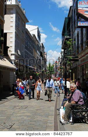 Main Street, Gibraltar.