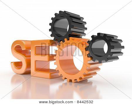 SEO - engranajes del motor de búsqueda
